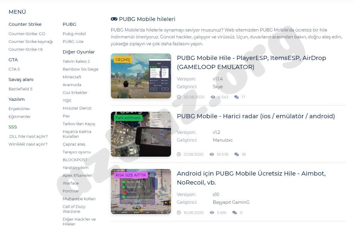 PUBG Mobile Arapların Kullandığı Hileler Nelerdir ? 2