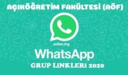 Açıköğretim (AÖF) Whatsapp Grup Linkeri 2020 - 2021 15