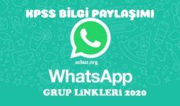 KPSS 2021 Whatsapp Grup Linkleri 16