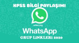 KPSS 2021 Whatsapp Grup Linkleri 5