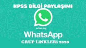 KPSS 2021 Whatsapp Grup Linkleri 6