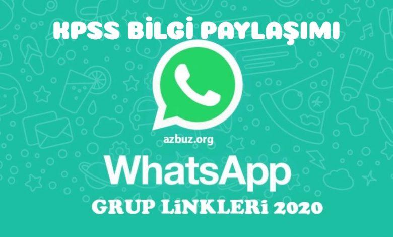 KPSS 2021 Whatsapp Grup Linkleri 1