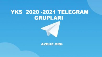 YKS 2020 - 2021 Telegram Grupları 6
