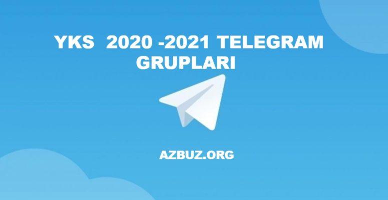 YKS 2020 - 2021 Telegram Grupları 1