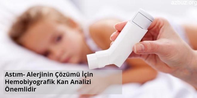 Astım- Alerjinin Çözümü İçin Hemobiyografik Kan Analizi Önemlidir 2