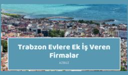 Trabzon Evlere Ek İş Veren Firmalar – Ekiş İlanları 2020