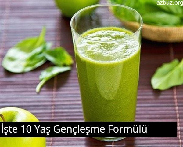 Bu Doğal İçecek İle 10 Yaş Gençleşin 2