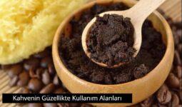 Kahvenin Güzellikte Kullanım Alanları 6