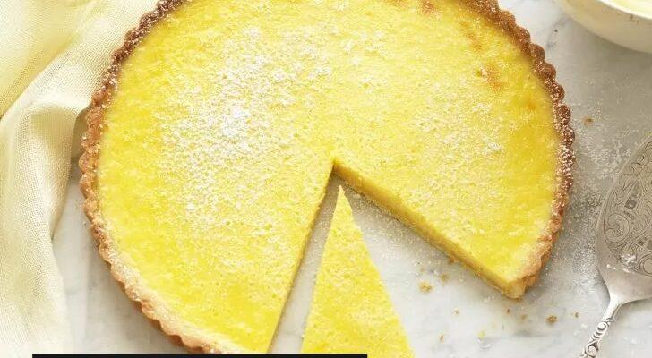 Limonlu Kremalı Tart Tarifi 1
