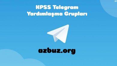 KPSS Telegram Grup Linkleri 2020 - 2021 1
