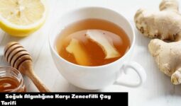 Soğuk Algınlığına Karşı Zencefilli Çay Tarifi 3