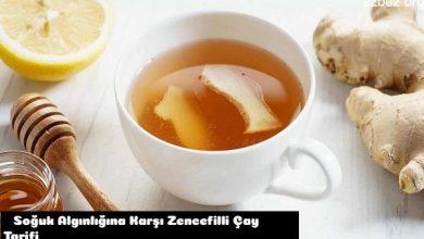 Soğuk Algınlığına Karşı Zencefilli Çay Tarifi 1