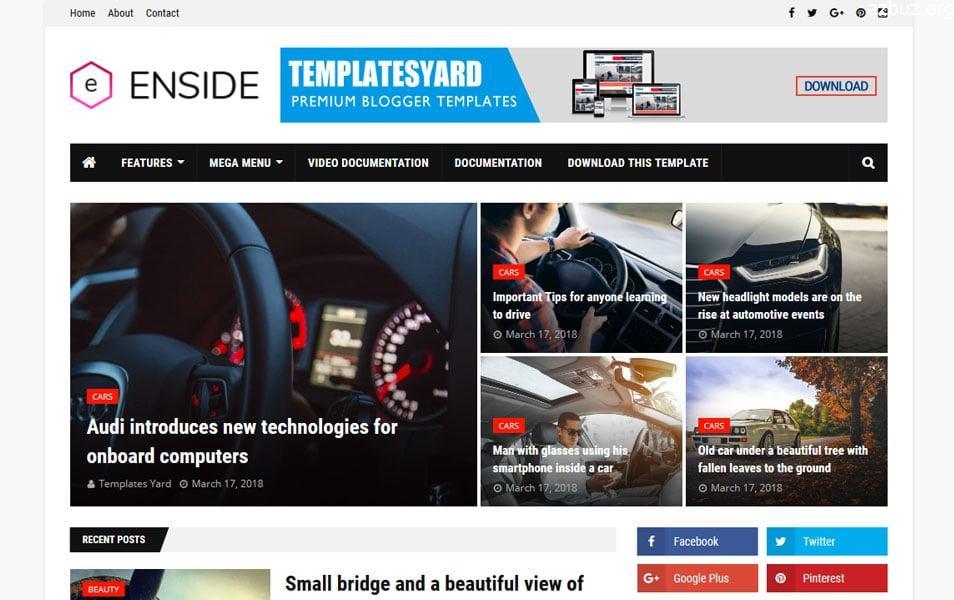 En İyi Blogger Temaları - Portal Blogger Temaları - Tema Arşivi #1 9