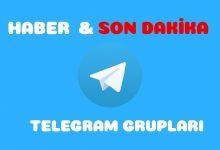 Haber Telegram Grupları - Kanalları 3