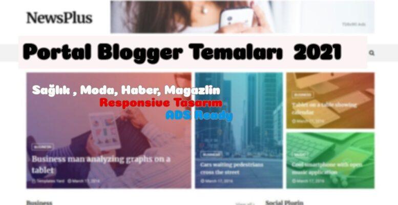 En İyi Blogger Temaları - Portal Blogger Temaları - Tema Arşivi #1 1