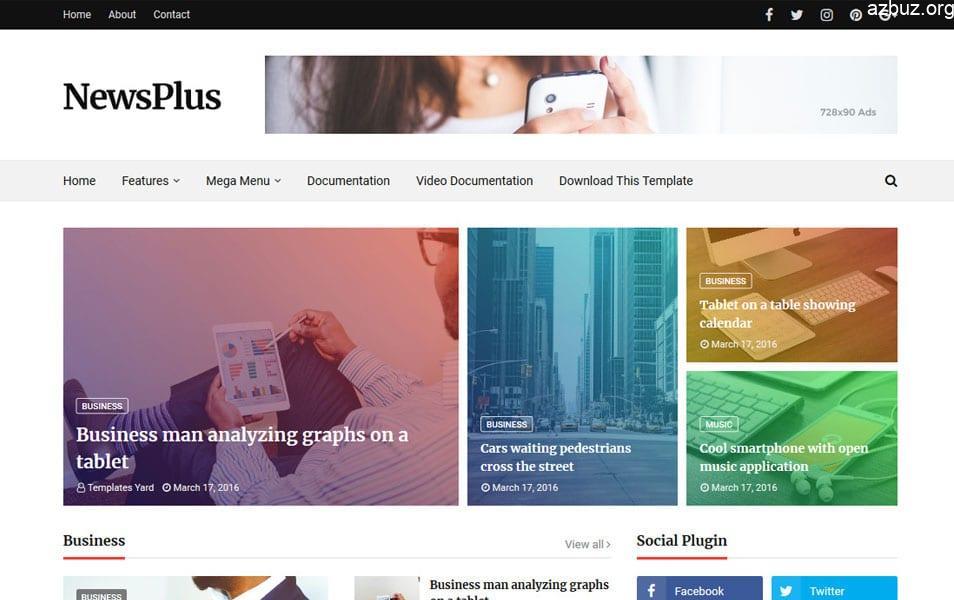 En İyi Blogger Temaları - Portal Blogger Temaları - Tema Arşivi #1 8