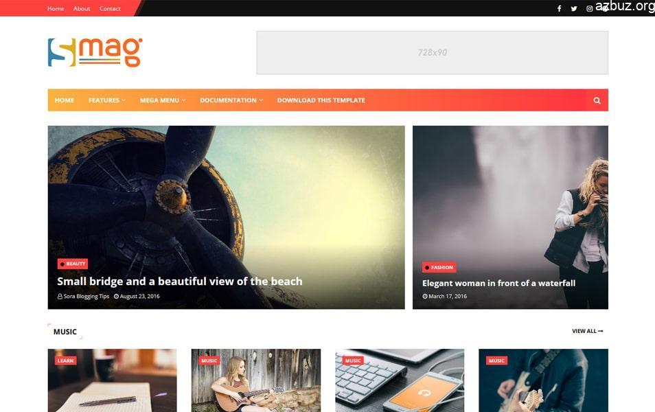 En İyi Blogger Temaları - Portal Blogger Temaları - Tema Arşivi #1 2