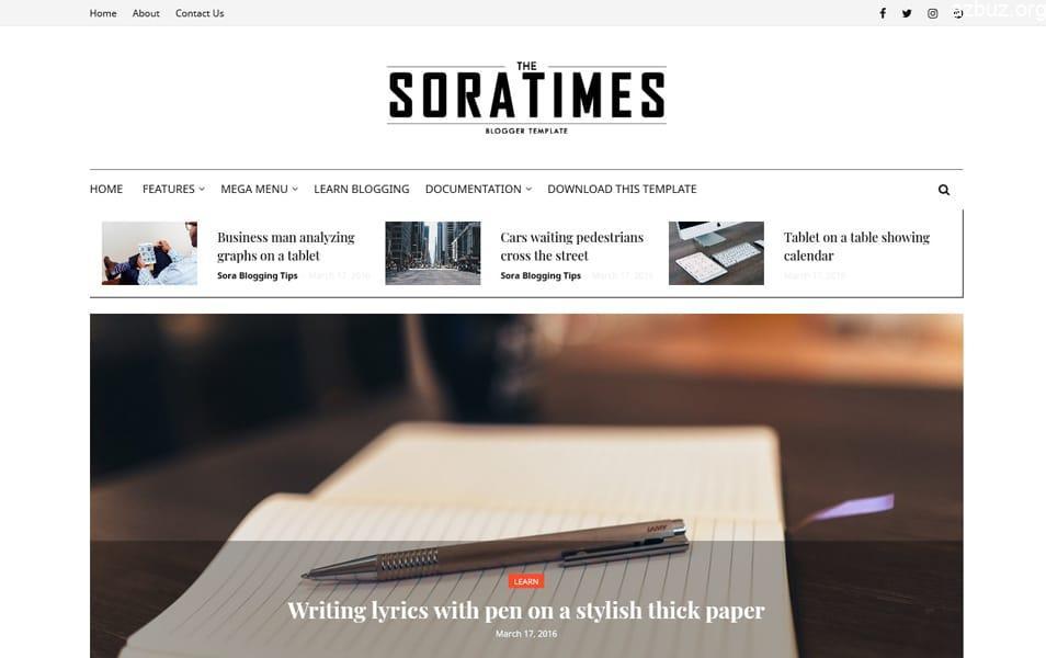 En İyi Blogger Temaları - Portal Blogger Temaları - Tema Arşivi #1 4