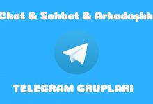 Aşk - Sohbet - Arkadaşlık Telegram Grupları 5