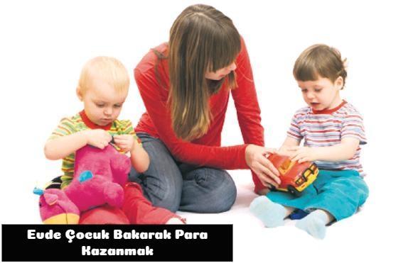 Evde Çocuk Bakımı İle Para Kazanma 1