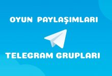 Oyun Telegram Grupları 3