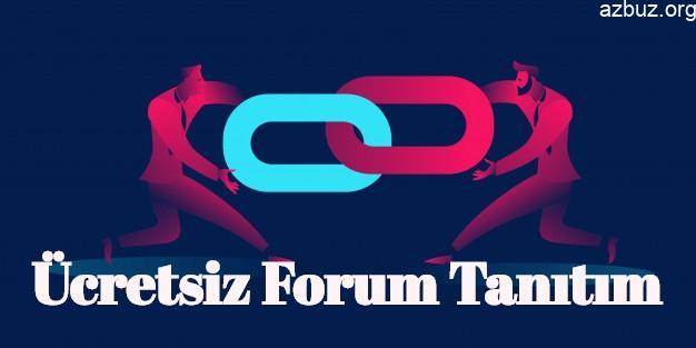 Ücretsiz Forum Tanıtımı Yapılabilecek Siteler 1