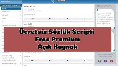 3000 TL lik Ücretsiz Sözlük Scripti - Free Premium Script 14
