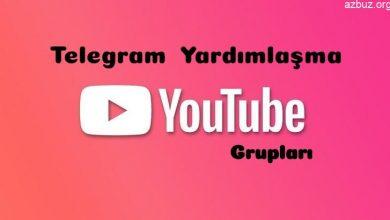 Youtube Yardımlaşma Telegram Grupları 1