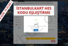 İstanbulkart HES Kodu Ekleme - Eşleştirme İşlemi Nasıl Yapılır ? 6