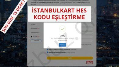 İstanbulkart HES Kodu Ekleme - Eşleştirme İşlemi Nasıl Yapılır ? 1