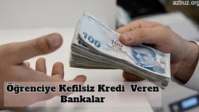 Öğrencilere Düşük Faizli Kefilsiz Kredi Veren Bankalar 1