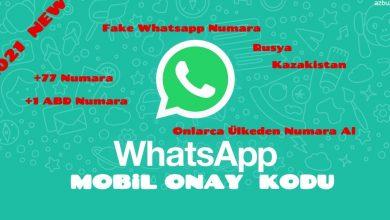 Whatsapp Geçici Fake Numara Nasıl Alınır ? 2