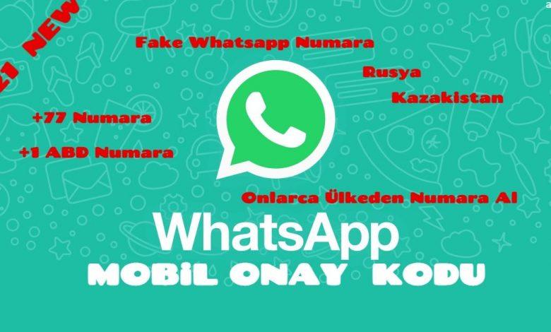Whatsapp Geçici Fake Numara Nasıl Alınır ? 1