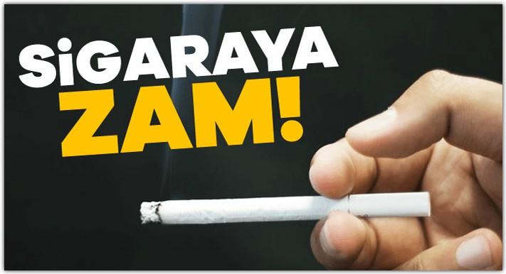 2021 Ocak Zamlı Sigara Fiyatları 1
