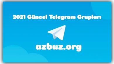 2021 Yeni Telegram Grupları - Kanalları 1