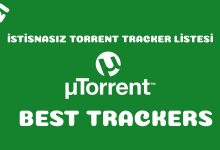 2021 Ocak İstisnasız Çalışan Torrent Tracker Listesi - Best Torrent Trackers January 2021 51