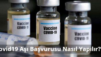 Covid19 Aşı Başvurusu Nasıl Yapılır? Korona Aşı Sırası 11