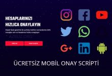 Ücretsiz Mobil SMS Onay Scripti 2021 - Ücretsiz Scriptler 49