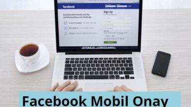 Facebook Mobil Onay - Facebook Telefon Onay 6